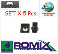 ROMIX 5x Windscreen Cowl Section Clips VW 7M3853585 1023253 C60354