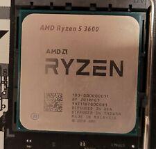 AMD Ryzen 5 3600 3.6 GHz 6 Core AM4 Processor with Wraith Cooler