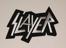 Slayer Embroidered Patch 2 1/4� X 3� Iron / Sew On Rock Band Music Angel Blood