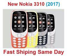 Unlocked Orange NOKIA 3310 NEW 2017 Dual SIM 2MP Camera Long Battery Same Day