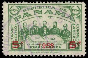 """PANAMA C198 - General Omar Torrijos Herrera """"Provisional Airmail"""" (pa48222)"""