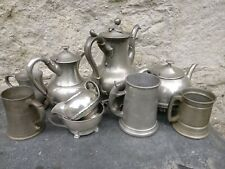 All English Pewter (92% tin content) scrap 1.6kg for casting