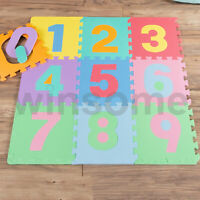 Kids Play Mat Number Floor Soft EVA Foam Jigsaw Baby Children Activity Puzzle