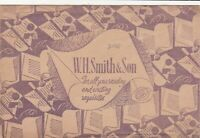 W. H. Smith & Son For All Reading & Writing Requisites illust Envelope Ref 39430