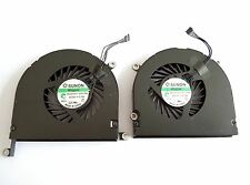 "New CPU Cooling Fan Left+Right 17""A1297 2009 2010 2011 for Apple Macbook Pro US"