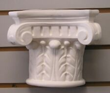 Oak Leaf Scroll Corbel Shelf Bracket Latex Fiberglass Production Mold Concrete