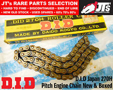DID 270H x 80 Links Drive Chain 270 H Pitch fits HONDA NC50 1982