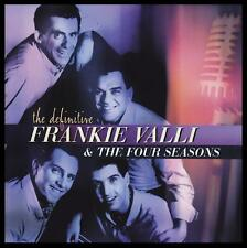 FRANK VALLI & THE FOUR SEASONS - THE DEFINITIVE CD ~ GREATEST HITS BEST OF *NEW*