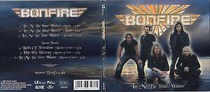 Bonfire - Let Me Be Your Water [EP]  (CD, Apr-2008, LZ) DIGIPAK
