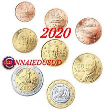 Série 1 Cent à 2 Euro BU Grèce 2020 - Brillant Universel