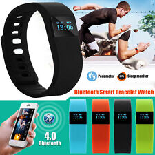 Sport Fitness Tracker Fitbit Style Smart Wristband Watch  Bluetooth Android IOS
