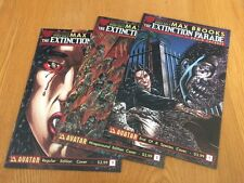The Extinction Parade #1 x3 Variant Max Brooks NM