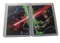 BAM BOX STAR WARS DARTH VADER LUKE SKYWALKER COMPLETE SET OF TRADING CARDS