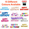 """15 colours 16"""" Happy birthday Foil Balloons haloween Self inflating Decor Baloon"""