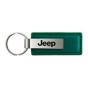 Name Leather Keychain for Jeep - AUGDP0872
