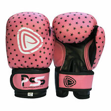 Kids Boxing Gloves Punch Bag Junior Mitts Girls Punching Sports Gloves Pink 1010