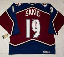 JOE SAKIC - size XXL - Colorado Avalanche CCM 550 VINTAGE series Hockey Jersey