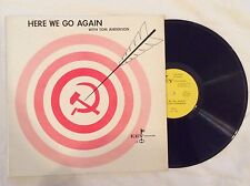 TOM ANDERSON here we go again LP Mint- KLP-900 Private 60s USA Political Comedy