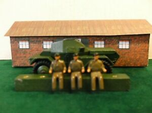 Dinky Toys. 600 Series Reproduction Driver. Painted x 3