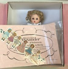 Madame Alexander 8�, Happy 50th Birthday Wendy #34710, Ltd Ed 1500, Coa