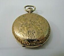 Lever Set. 0s 15j Runs Vintage Hampton Diadem Gold Filled.