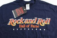 NWT Rock And Roll Hall Of Fame Original TEE T SHIRT Medium M Cleveland Slim