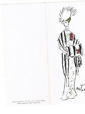 Cecil Beaton Serigraph Costume Design MY FAIR LADY Tiber Press NY card rare