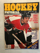 Hockey Pictorial March 1980 Brian Propp + Wayne Gretzky centerfold poster