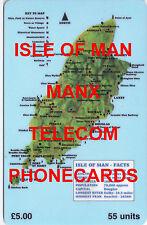 IOM Isle of Man Manx Phonecards Multi Subjects at .99p