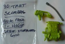 VINTAGE TMNT 1990 SCUMBAG BUG PACK,HOSE & TURTLE EXTERMINATING GUN WEAPON PARTS