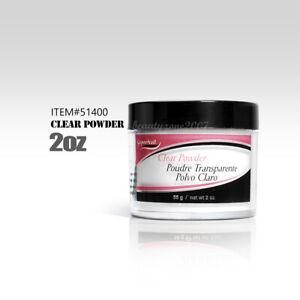 Supernail Professional Acrylic Powder - Clear 2oz #51400