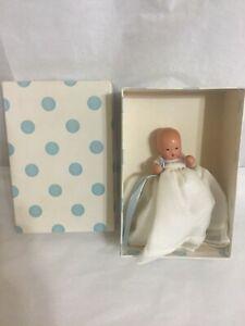 "3.5"" Vintage Antique Nancy Ann Baby Doll Hush A Bye Baby & ""Little Miss Pattyca"