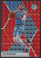 2019-20 Panini Mosaic Choice RED FUSION 66 Dillon Brooks 38/88 Memphis Grizzlies