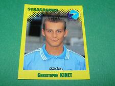N°321 KINET RC STRASBOURG RCS MEINAU PANINI FOOT 98 FOOTBALL 1997-1998
