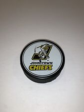 Vintage Echl Johnstown Chiefs Official Hockey Puck
