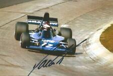 Jackie Oliver 1973 Shadow DN1 - Ford Hand Signed F1 Racing Photograph