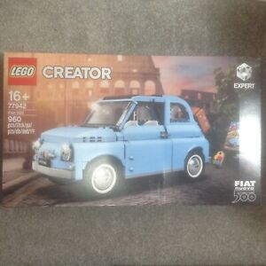 Lego Creator 77942 Fiat 500 UK Exclusive Light Blue Variant