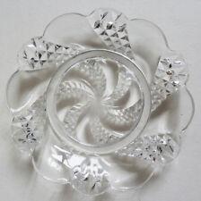 Coupelle petite assiette soucoupe en cristal de BACCARAT  crystal