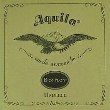 Aquila 57U Bionylon Soprano Ukulele Uke Strings High G Regular Tuning Single Set
