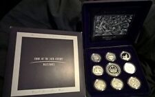 1998 MASTERPIECES IN SILVER -*COINS OF THE 20TH CENTURY* SILVER PROOF SET