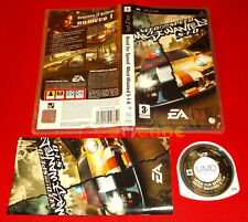 NEED FOR SPEED MOST WANTED 5-1-0  Psp Versione Italiana 1ª Ed○ COMPLETO - FA