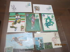 Summer olympic Games  Sports athletic Jump  MAXIMUM CARD  FDC