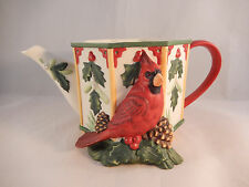 Lenox Winter Greetings Birdhouse Teapot Lid Not Included