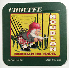 Chouffe Houblon (Belgium) Vintage Beer Coaster