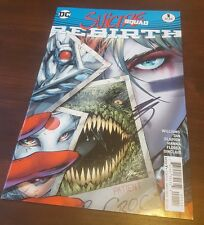 DC Comic Suicide Squad 1 USA import SIGNED BY ROB WILLIAMS mint unread graphic