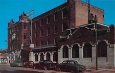 NILES, MI  Michigan     FOUR FLAGS HOTEL 40's & 50'S Cars     Roadside Postcard