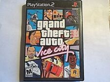Grand Theft Auto: Vice City (Sony PlayStation 2, 2002) NO MANUAL