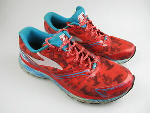 Women's BROOKS 'Launch Boston' Sz 7.5 US Runners Red VGCon | 3+ Extra 10% Off