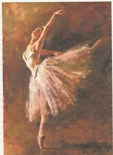 Carta di riso per Decoupage Scrapbook Craft sheet Ballerina Classica