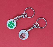 Einkaufswagenchips Einkaufswagen Schlüsselanhänger mit Karabiner Metall